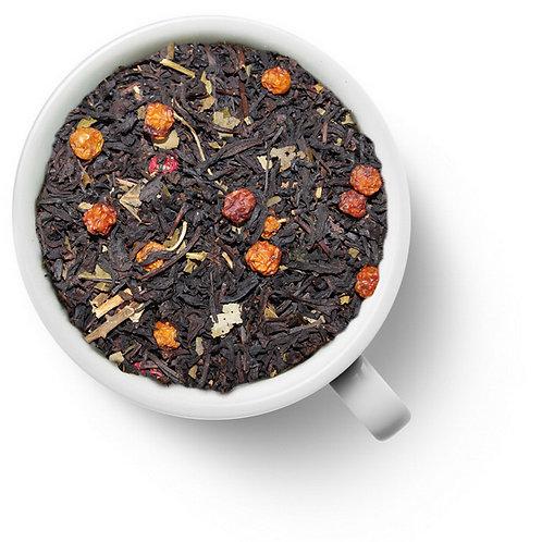 Чай черный С красной рябиной