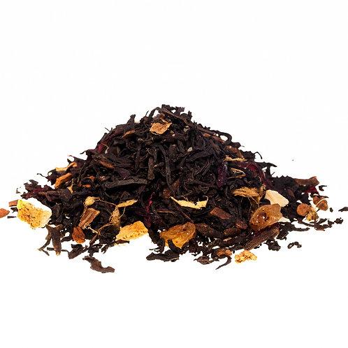 Чай чёрный Облепиха с корицей