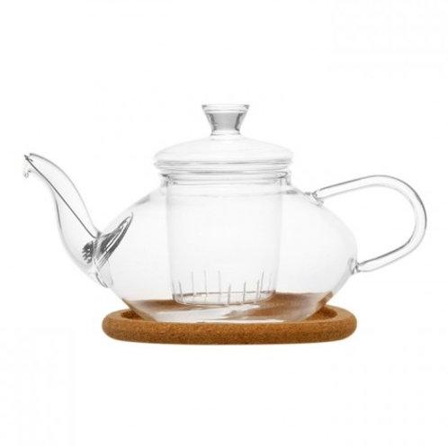 Чайник из жаропрочного стекла Жасмин (500 мл.)