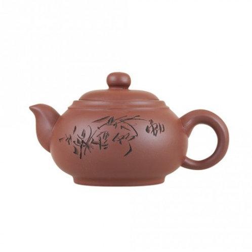Глиняный чайник Два лепестка  (350 мл)