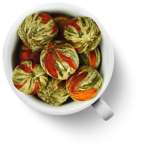 Китайский элитный чай Бай Юй Лянь (Белый лотос благоденствия) шарик