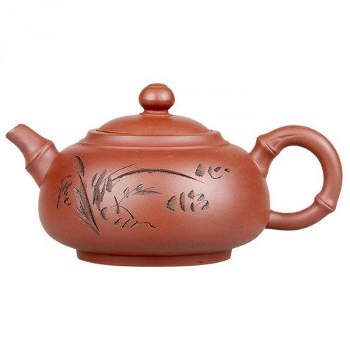 Глиняный чайник Камыши (350 мл.)