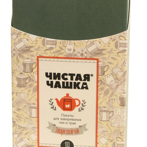 Фильтр-пакеты Чистая Чашка для заваривания чая и трав на чайник