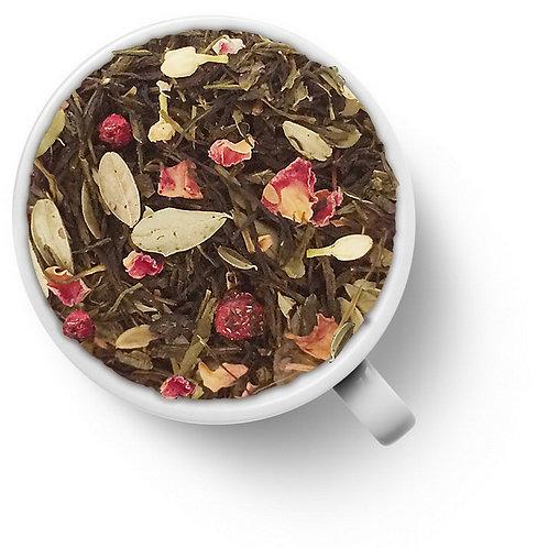 Чай зеленый Брусника