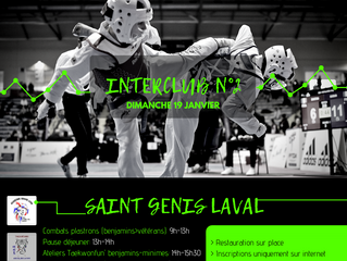 Interclub n°2 - Saint Genis Laval
