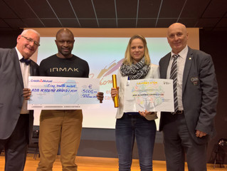 Académie Grand Lyon lauréat d'or de l'appel à projet Durablement Sport!