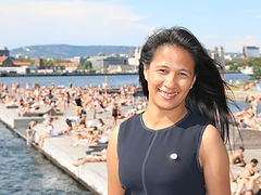 President Claire Ann Alfonso i Norges Li
