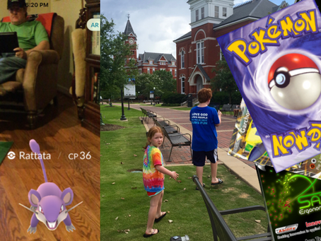 Pokemon Hunting and the Future of Applied Ergonomics
