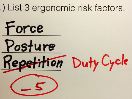 Duty Cycle . . . the New Repetition?