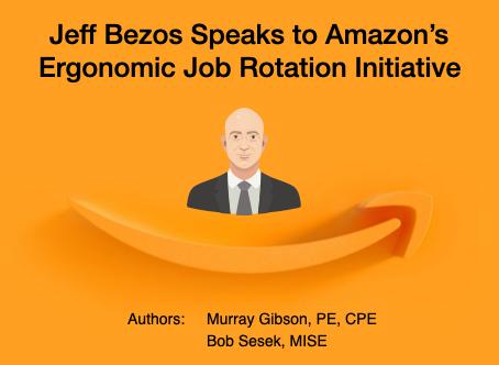 Jeff Bezos Speaks to Amazon's Ergonomic Job Rotation Initiative