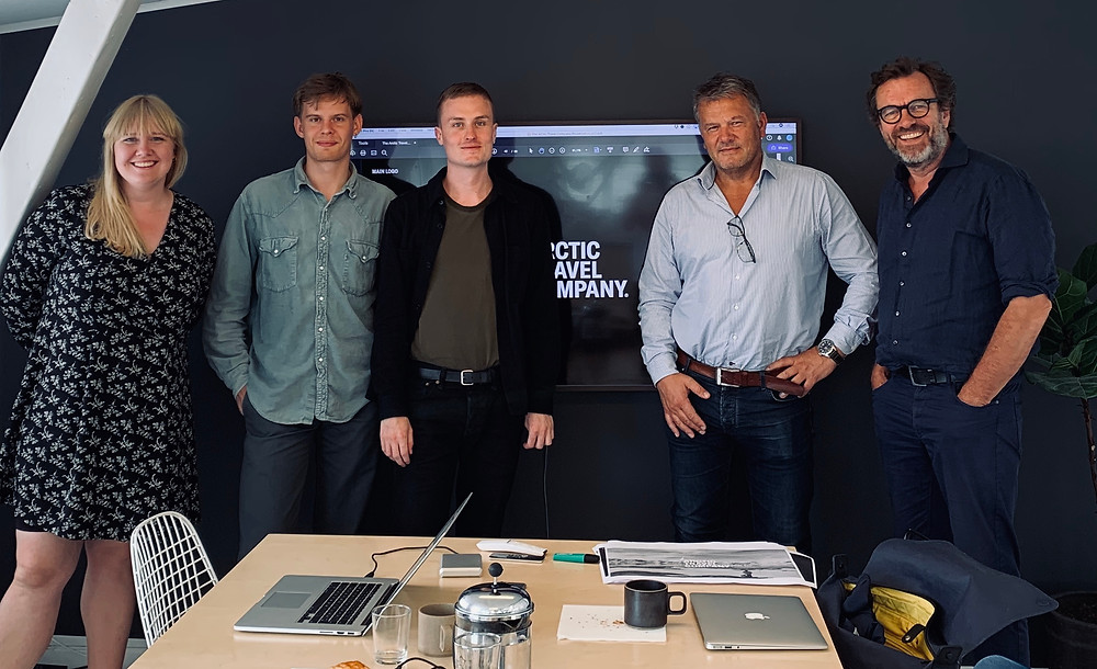Øivind Breen with Team Breen and Urgent.Agency and CEO Knut Harald Marius Holst-Hansen.