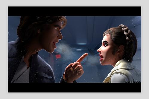 "ESB: Han & Leia, ""Hoth & Cold"""