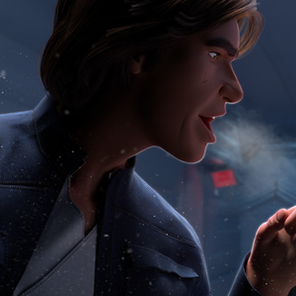 Hoth & Cold: Han & Leia