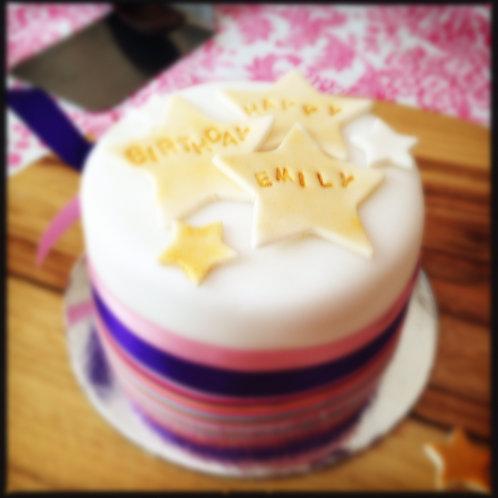 "Christening or Formal Birthday Cake 5"""