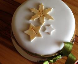 Organic Vintage Christmas Cakes