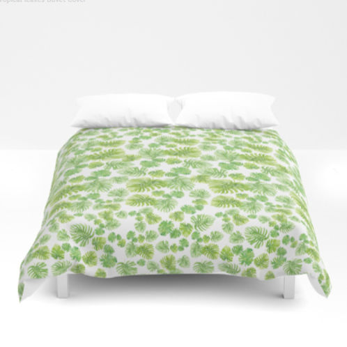 Leaves Douvet covers