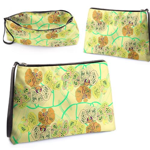 Orchid Clutch Bag