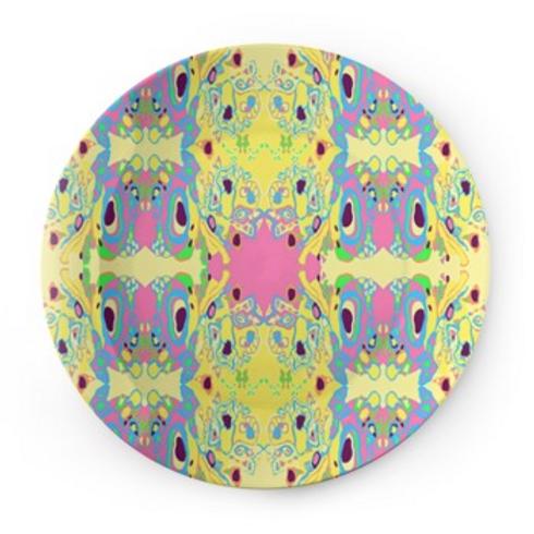 Designer China plates