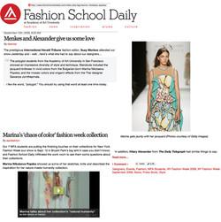 fashion school daily
