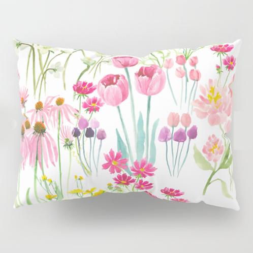 Flower garden Pillow Shams