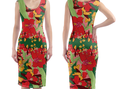 Orchid Bodycon Dress