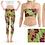Thumbnail: Floral Ladies Gym Set