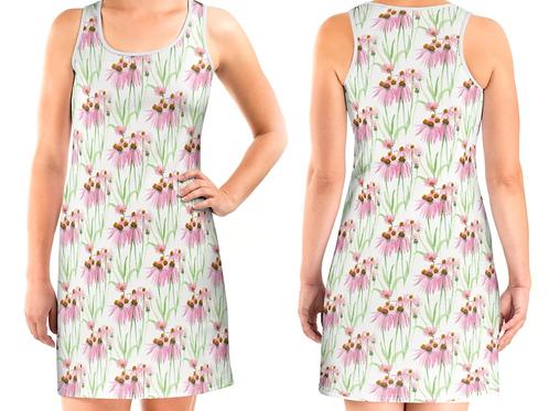 Floral Vest Dress