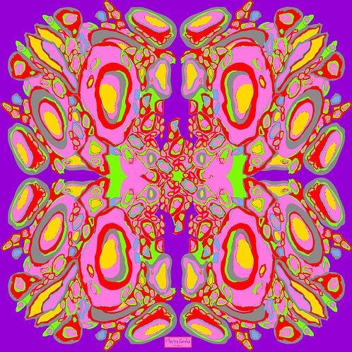Collection Ameba Silk Scarf