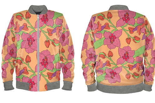Orchid Bomber Jacked