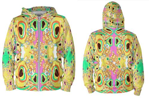 Ameba Unisex zip hoodie
