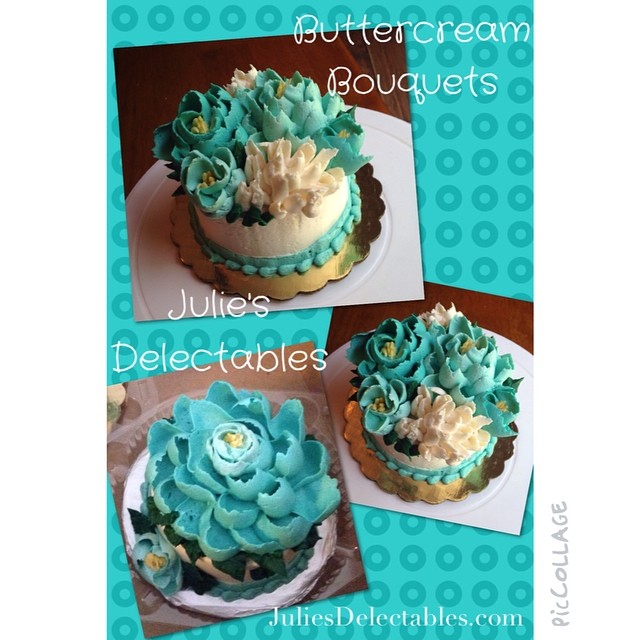 Instagram - Julie's Delectables #piccollage#buttercreamflowers
