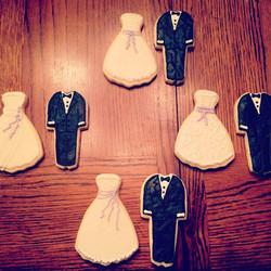 Instagram - Bridal shower cookies 👰🎩