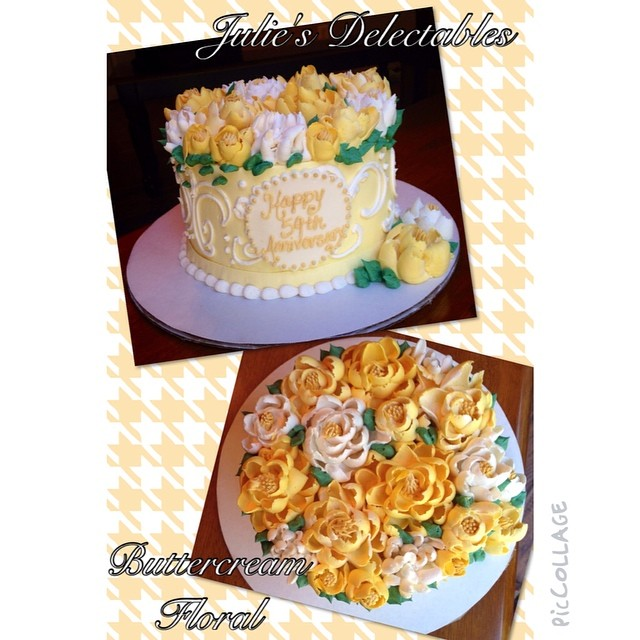 Instagram - Julie's Delectables #buttercreamflowers #buttercreamforlife#juliesde