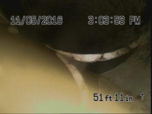 Sewer Camera Shot