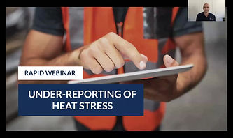 Under-Reporting of Heat Stress Webinar