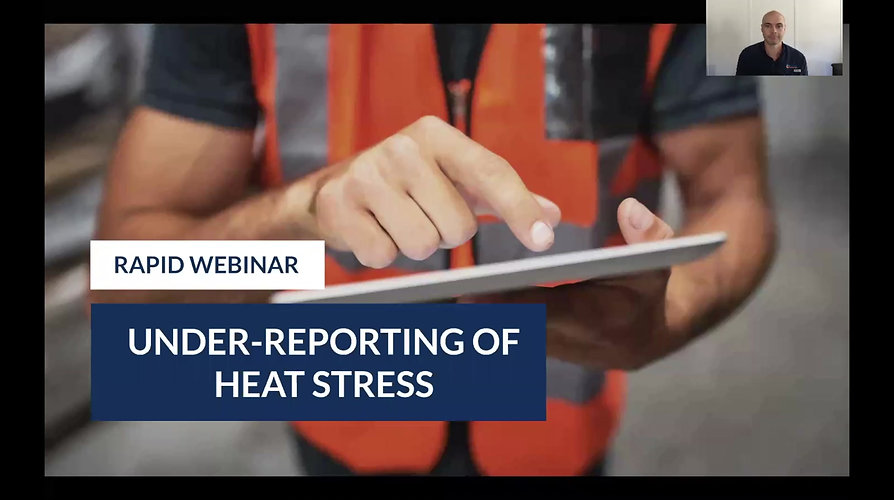 Under reporting of heat stress