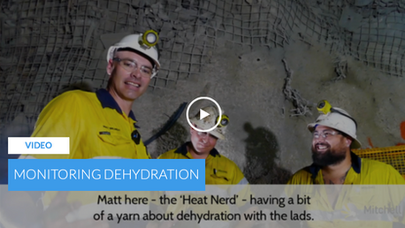 Monitoring Dehydration