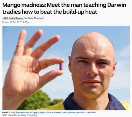 Mango Madness - beating the build-up heat
