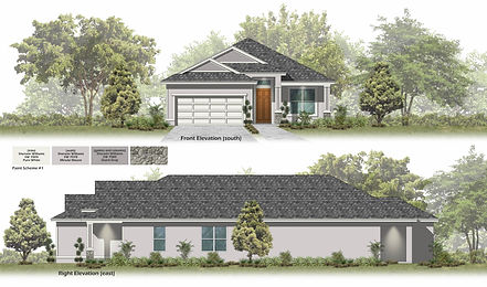 Central Florida New Construction Floor Plan