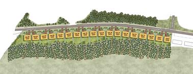 Saxon Avenue homes site plan