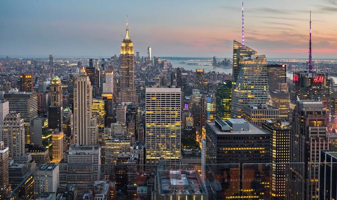 New York, New York, it's a wonderful town