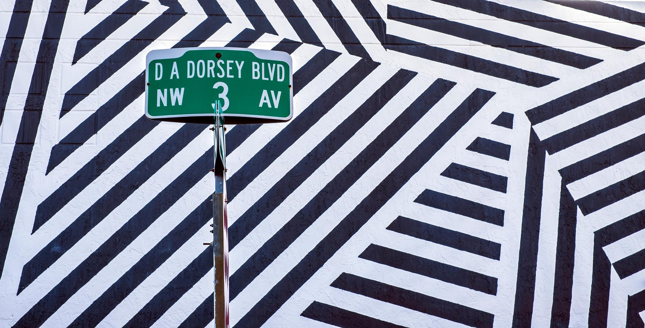 Zebra wall Wynwood, Miami, Florida