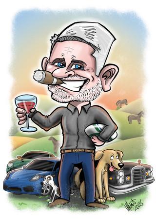 Car Caricature
