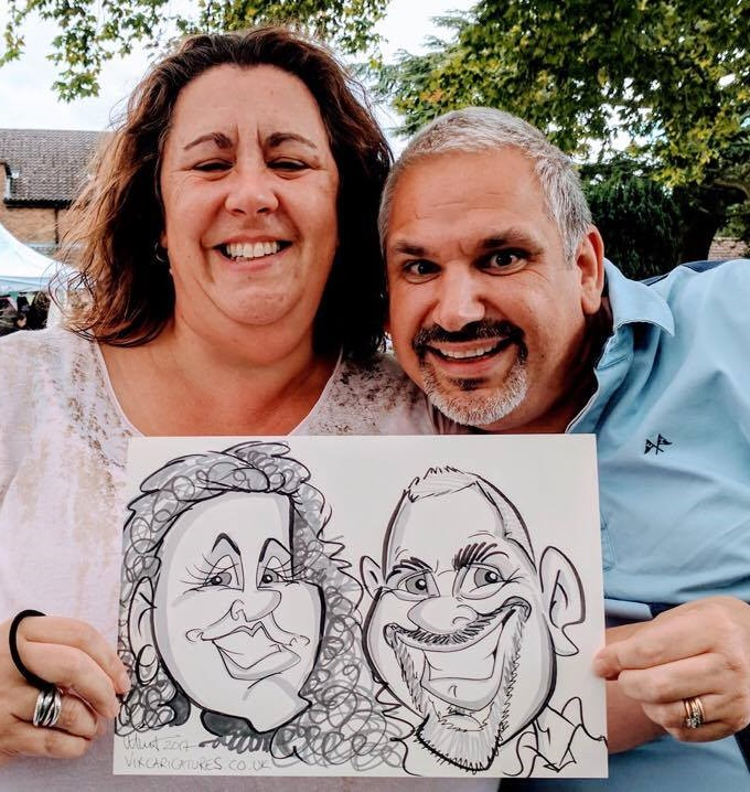 Live Speedy Caricatures, Professiona