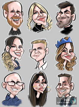Live Digital Caricatures