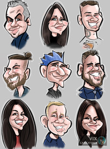 Live Digital Ipad Caricatures