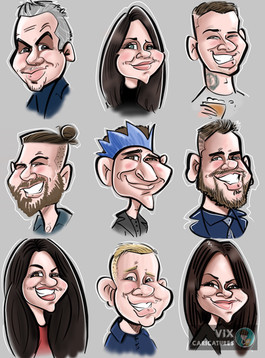 Live Digital Ipad Caricatures