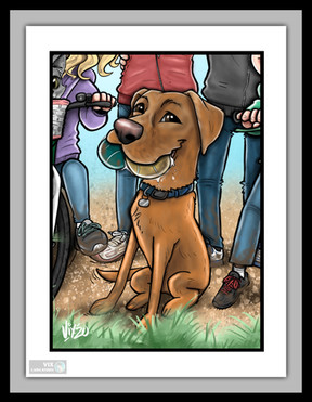 pet_caricature_from_photos_christmas_birthday_gift_dog