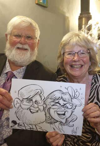 live wedding caricatures vix caricatures