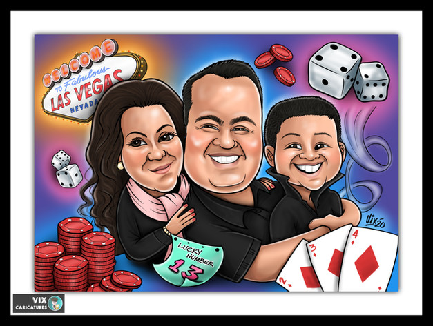 Colour Caricature gift from photos 1.jpg